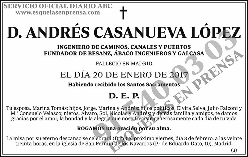 Andrés Casanueva López